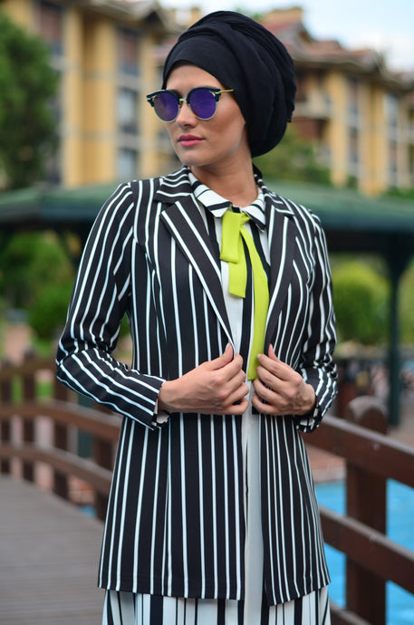 SrLamode - Striped Blazer