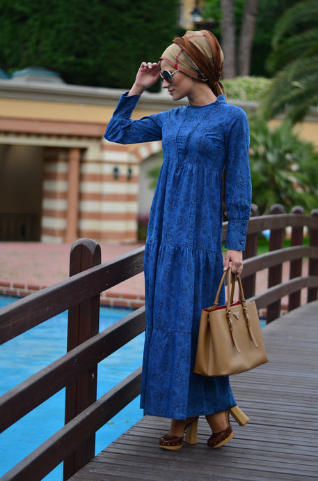 SrLamode - Vintage Denim Dress
