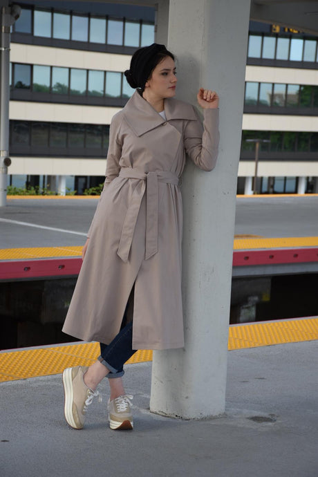 SrLamode - Beige Trench Coat