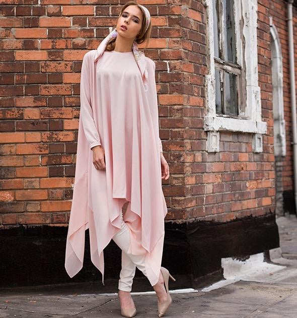 SrLamode - Powder Pink Tunic
