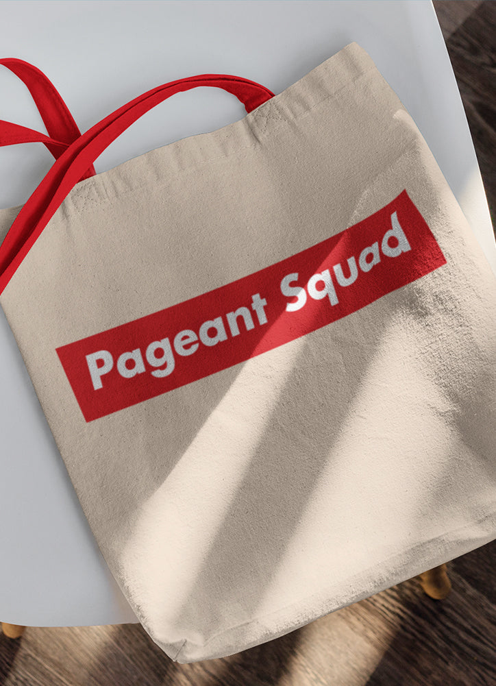 PAGEANT SUPREME• Tote bag