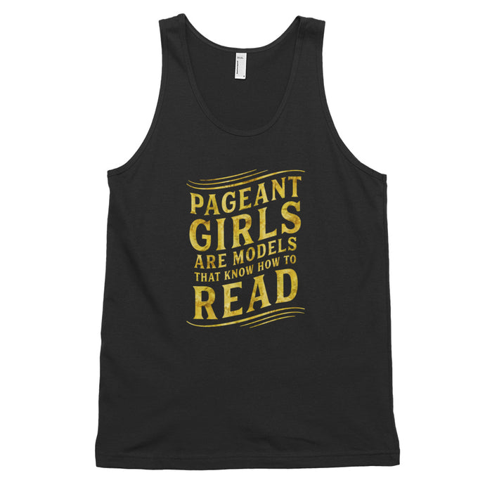 PAGEANT GIRLS READ • TANK TOP