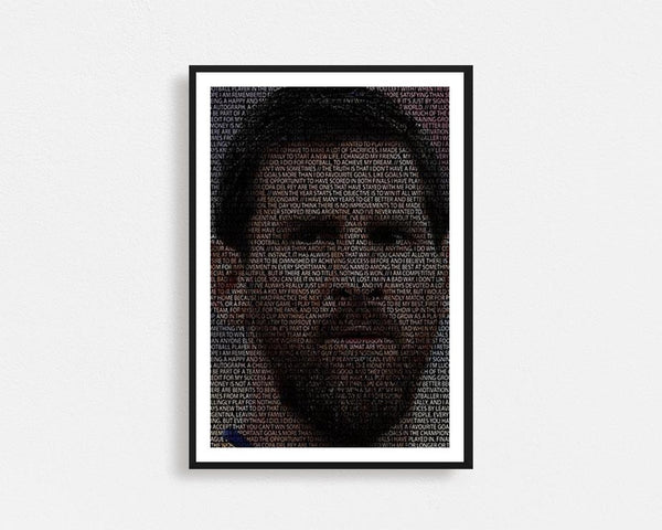 Lionel Messi Typography