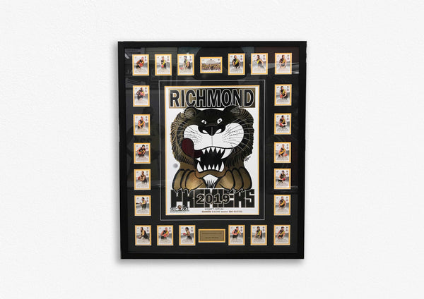 Richmond 2019 Premiers Weg art Framed