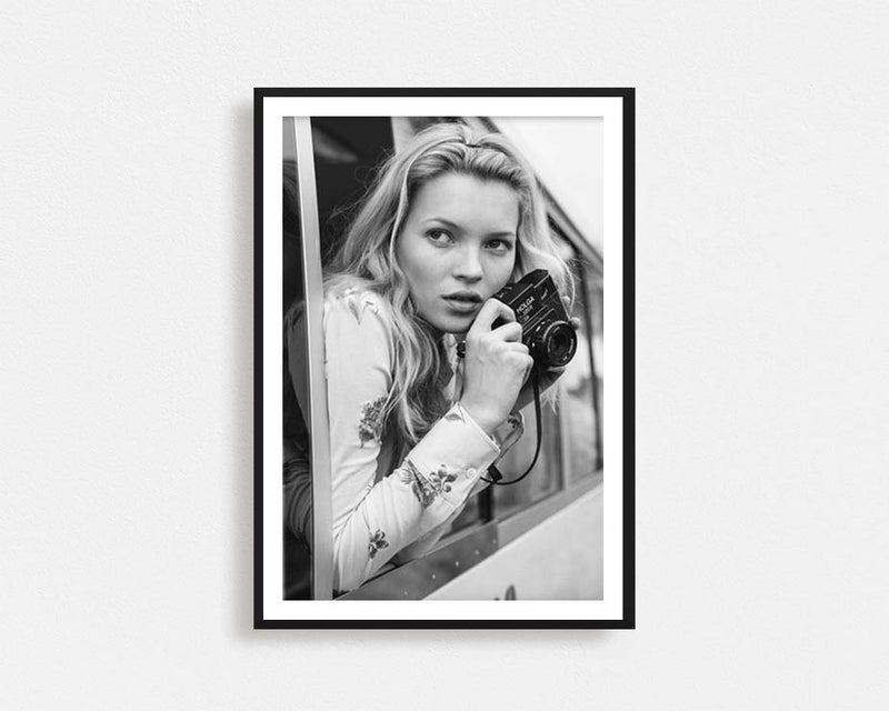 Kate Moss 2nd Edition Print