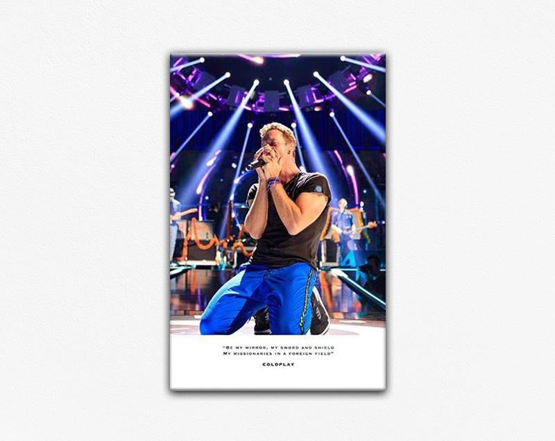 Coldplay Frame