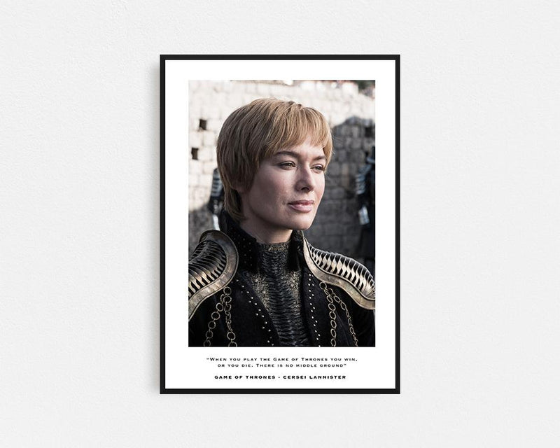 Game of Thrones Cersei Lannister Frame