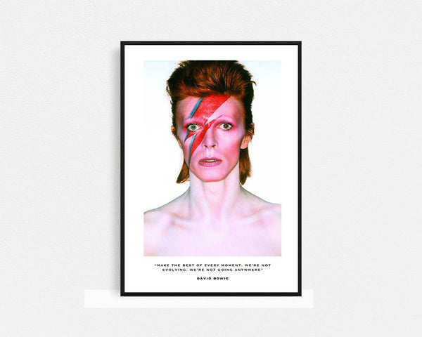 David Bowie First Edition Frame