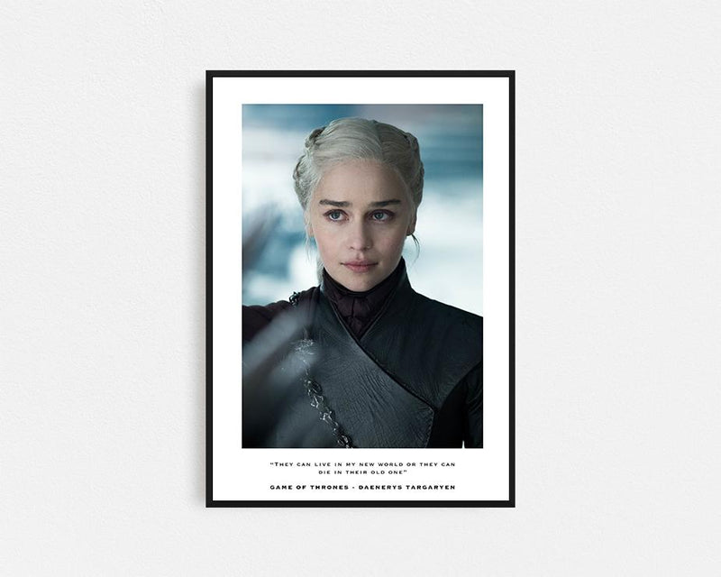 Game of Thrones Deanerys Targaryen Frame