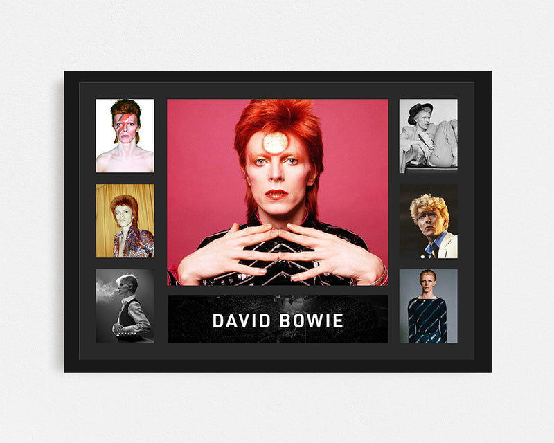 David Bowie - Tribute Frame