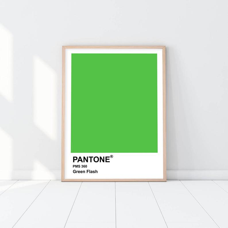 Pantone - Green Flash