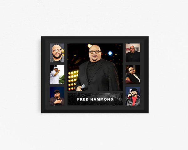 Fred Hammond - Tribute Frame