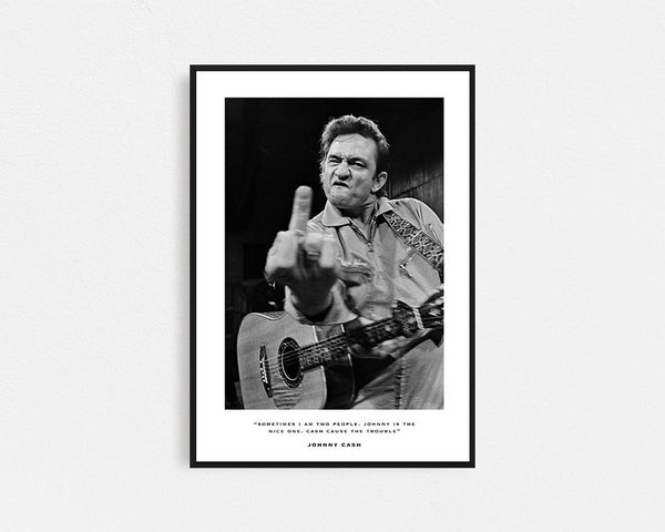 Johnny Cash Frame