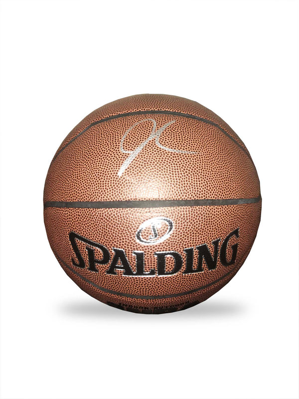 J.R Smith Hand Signed Basketball