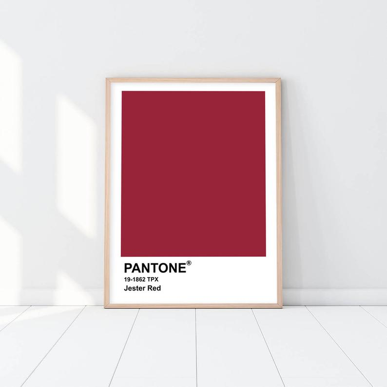 Pantone - Jester Red