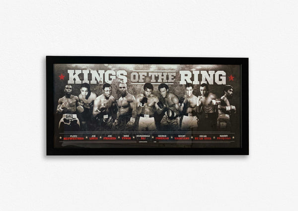 KINGS OF THE RING - FRAMED