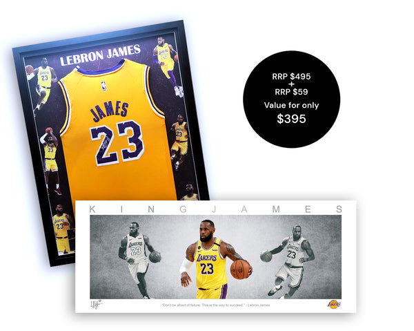 Lebron James Signed Bundle