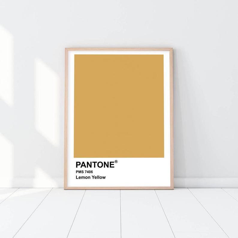 Pantone - Lemon Yellow
