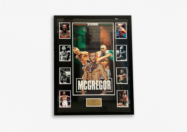 CONOR MCGREGOR - FRAMED