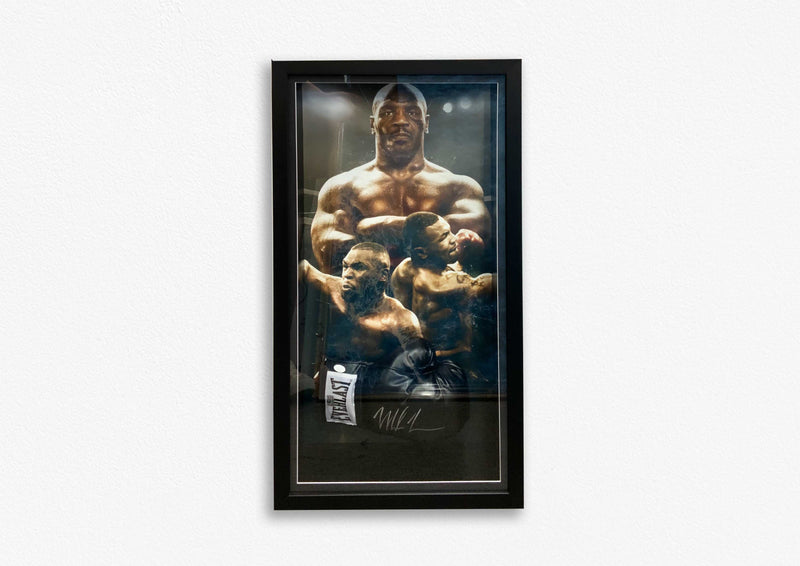 Mike Tyson Hand Signed Glove - Framed