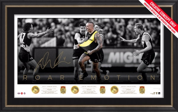 Dustin Martin Signed Premiership Icon Series