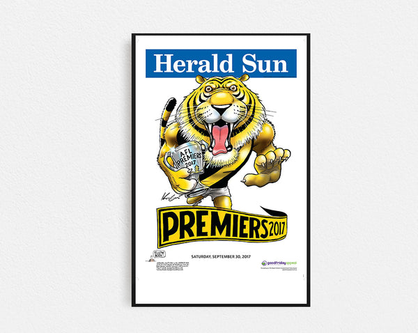 Herald Sun Richmond Premiers 2017