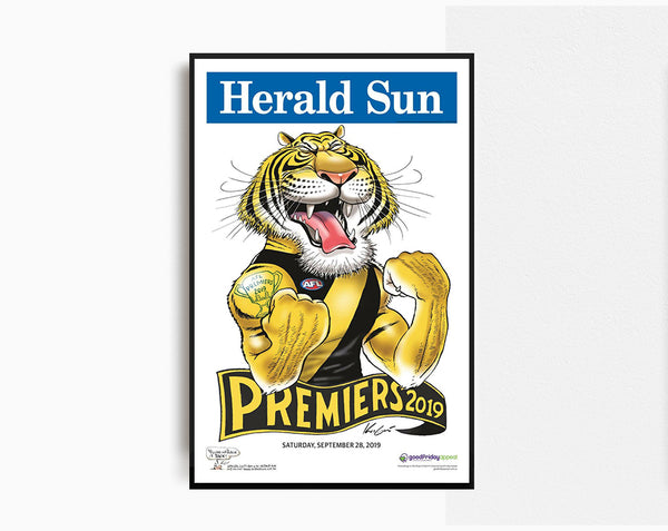 Herald Sun Richmond Premiers 2019
