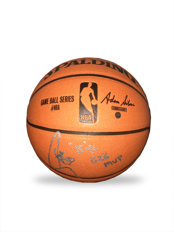 Steph Curry Hand Signed Basketball