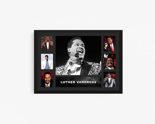 Luther Vandross - Tribute Frame