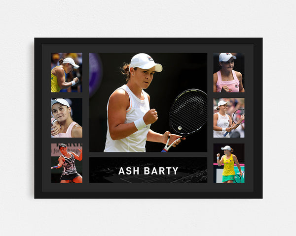 Ash Barty - Tribute Frame