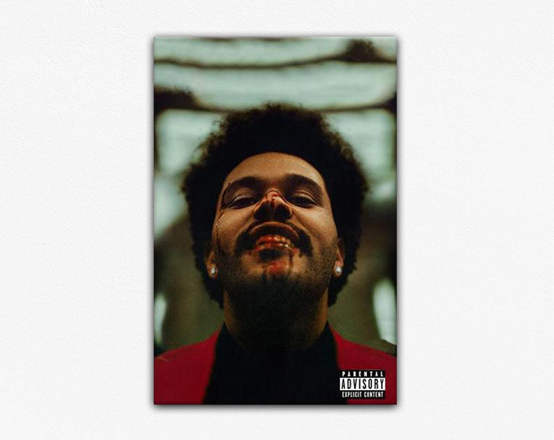 The Weeknd 'After Hours' Album Frame