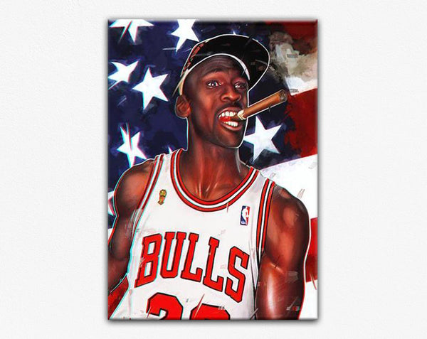 Michael Jordan Art Cigar