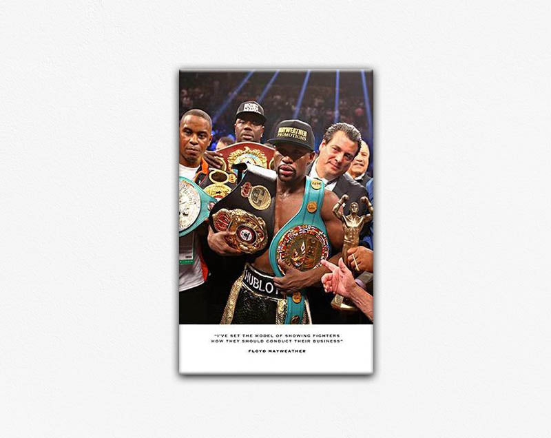 Floyd Mayweather Second Edition Frame