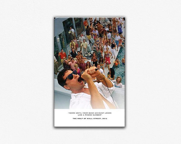 The Wolf of Wall Street Movie Frame