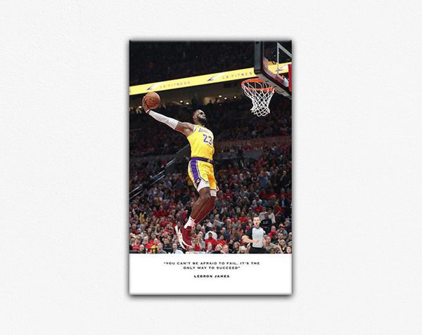 Lebron James Los Angeles Lakers Frame