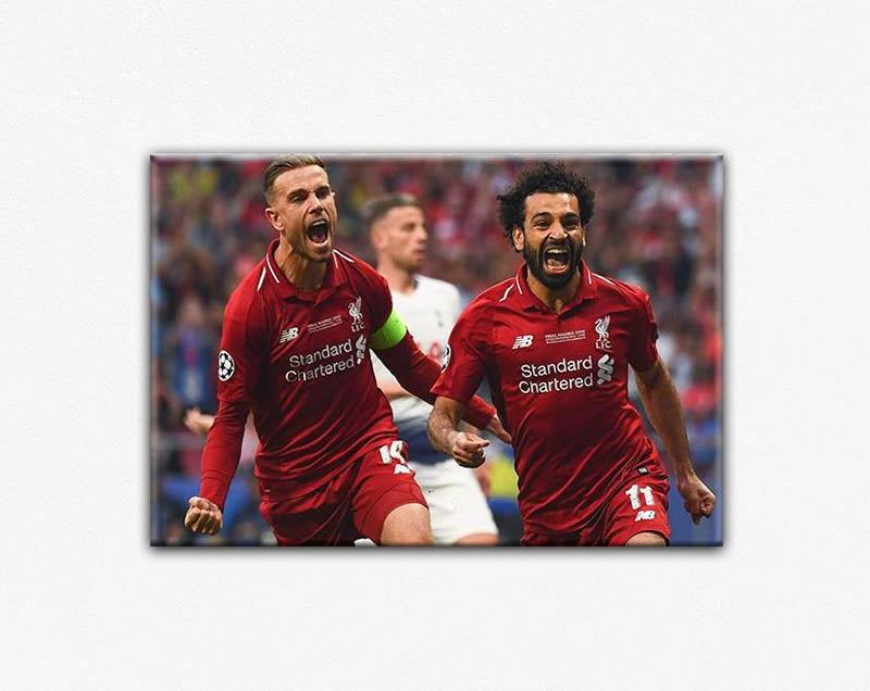 LIVERPOOL UEFA CANVAS PRINT POSTER #7