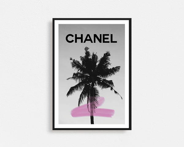 Chanel Palm Tree