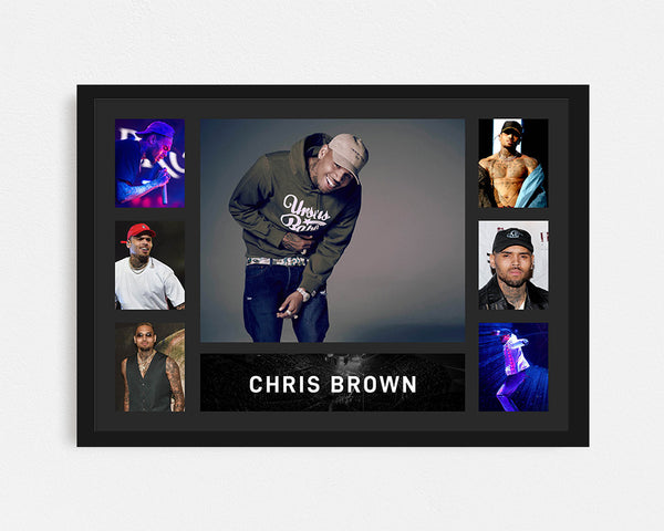 Chris Brown - Tribute Frame