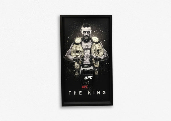Conor McGregor Hand Signed Glove - Framed