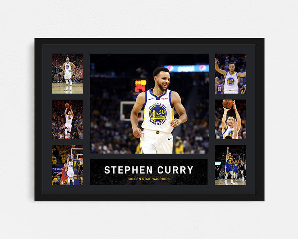 Stephen Curry - Tribute Frame