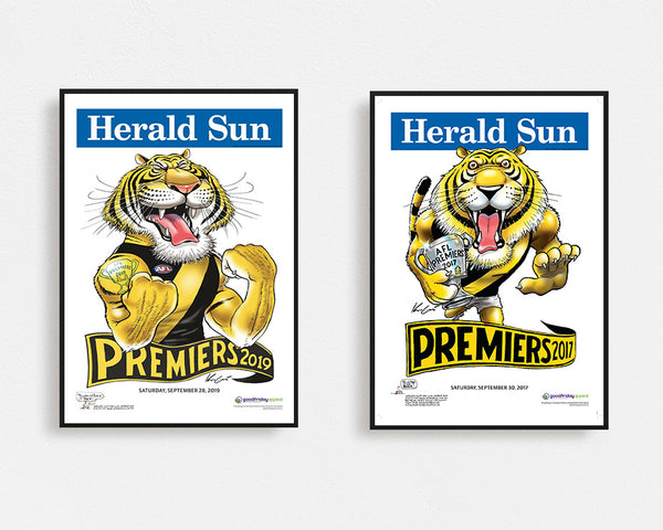 Combo Deal Richmond 2019 & 2017 Herald Sun