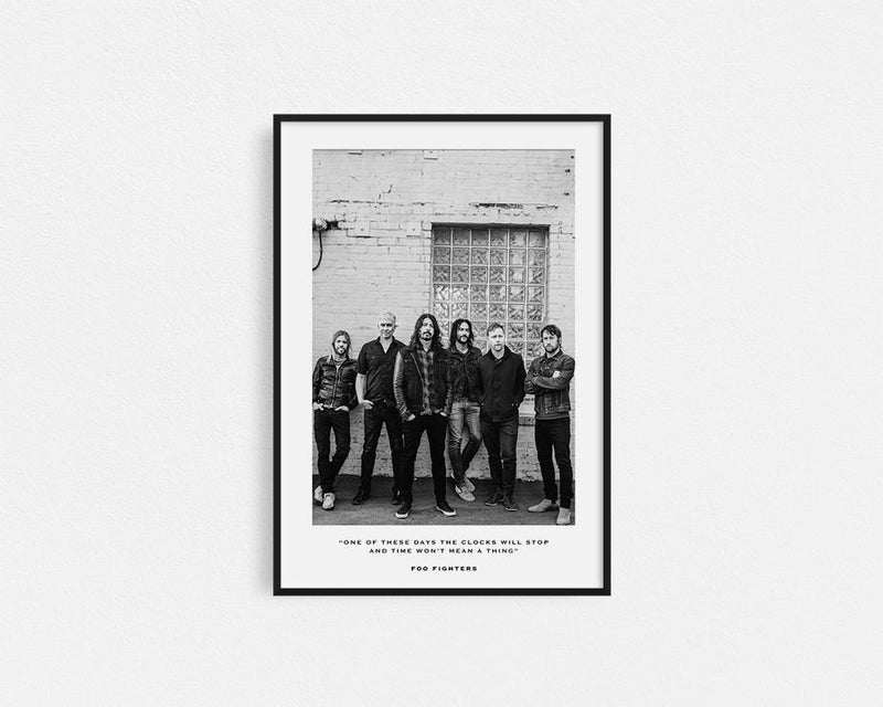 Foo Fighters Frame
