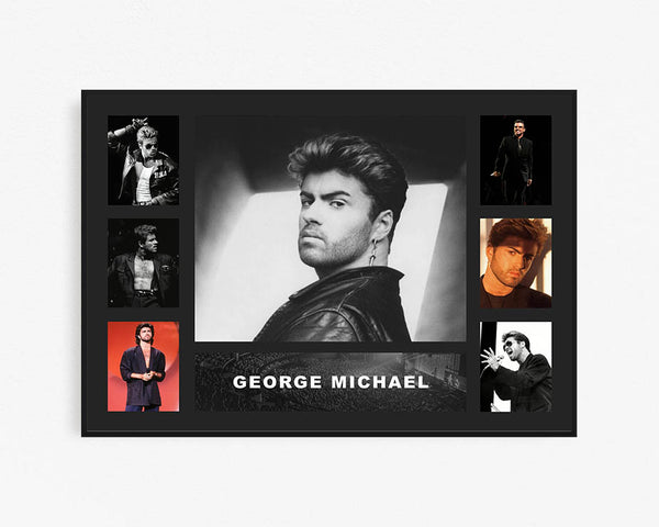 George Michael - Tribute Frame