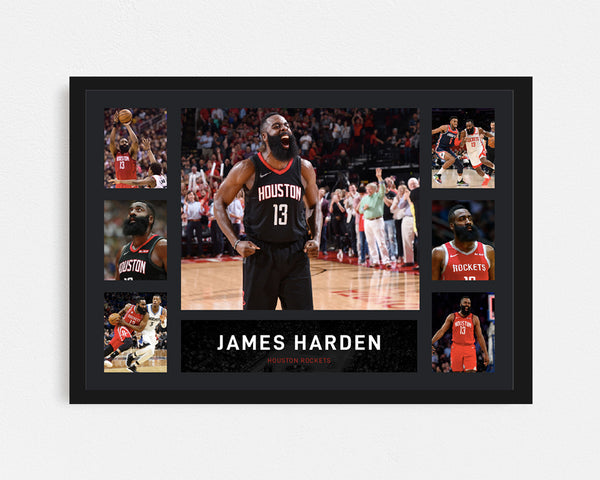 James Harden - Tribute Frame