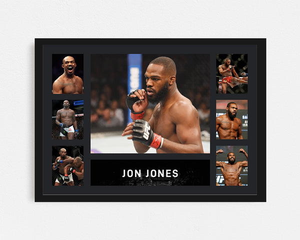 Jon Jones - Tribute Frame