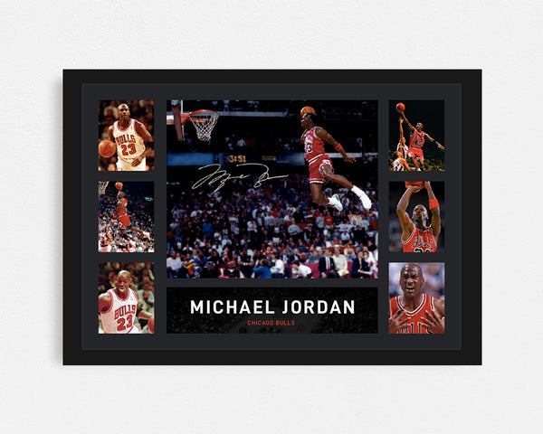 Michael Jordan - Tribute Frame