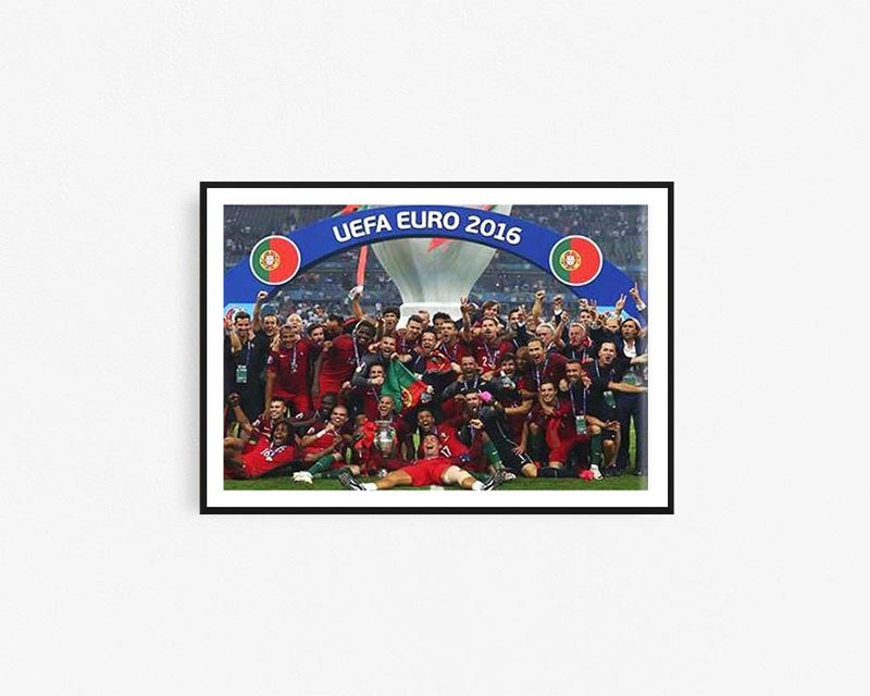 Portugal Team Euro Celebration