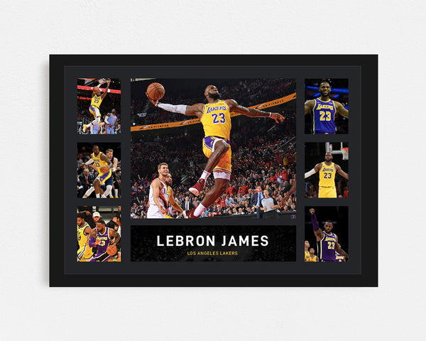 Lebron James - Tribute Frame