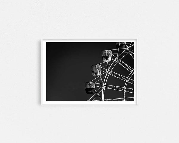 Monochrome Ferris Wheel