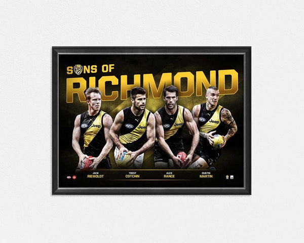 RICHMOND TIGERS 'SONS OF RICHMOND'